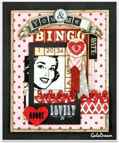 Valentine's Day - Scrapbook.com - Pretty Valentine's Day Card!