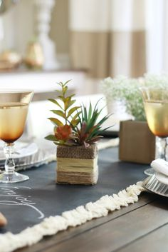 DIY Fall Tablescape Ideas