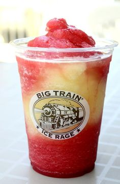 big train frozen strawberry lemonade