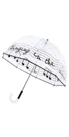 Singing in the rain umbrella! Loving it