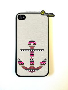 Aztec Anchor iPhone 4 Case / New Hard