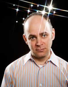 I wrote this story about Todd Barry, a really really really funny comedian and expert promotional photograph model.