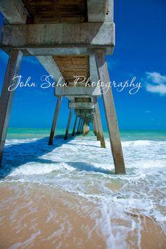 Florida Fishing Pier by John Sehn Photography