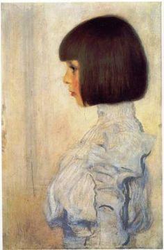 Gustav Klimt - Portrait of Helene Klimt 1898