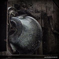 Belfry  5x5 Fine Art Photography  Modern Rustic by WhiteBarnArt,