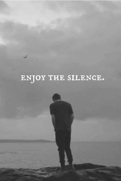 enjoy the silence, slience quotes, bathrooms, quotes & sayings, aquarius