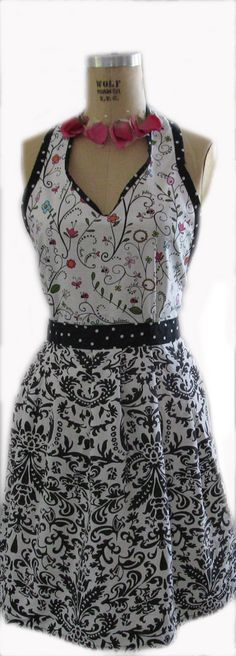 Vintage Chic Apron Pattern for