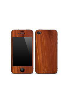 iPhone 4/4S Wooden Skin Cedar