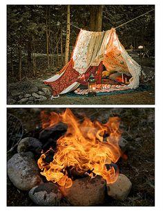 Tent + Fire