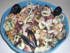 salad de fruit de mer