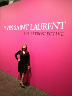 Yves Saint Laurent Retrospective at the Denver Art Museum May 2012   (photo by @Greeblemonkey)