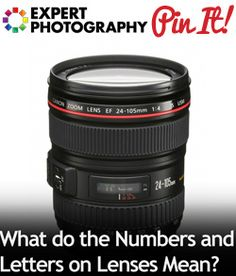 What do the Numbers and Letters on Lenses Mean.