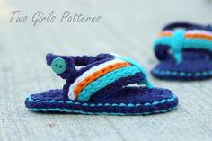 Sporty Baby Flip Flop Sandal Pattern