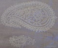 another inspiration...more chikankari embroidery