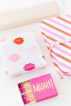 DIY lip patterned gi