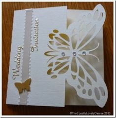 Butterfly wedding Invitaion 1