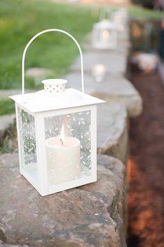 Little white lanterns
