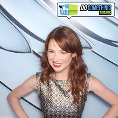 The Office's Ellie Kemper looks cute as ever in our DSA GIF Booth!