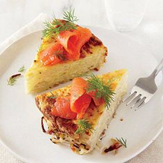 Salmon and Potato Casserole | CookingLight.com #protein #vegetables #dairy #myplate