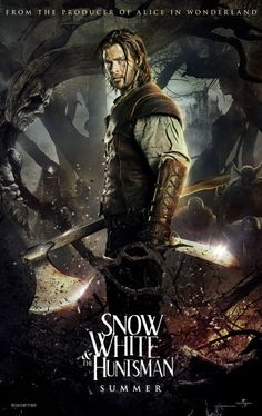 Snow White and the Huntsman comes out June 1st. This dark twist on the classic Snow White story looks like it has a lot of potential. Let's see if this will be yet another hit for Chris Hemsworth.