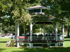 The Bandstand in the Park - Hoosick Falls, NY