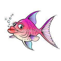 fish cartoon, someth fishi, fishi busi, cartoon fish