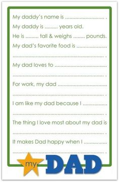 fun father, fathers day questions, father's day questionnaire, fathers day theme, father day, diy gift, fathers day questionnaire, holiday craftsgift, gift idea