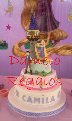 Torta de Rapunzel!!!