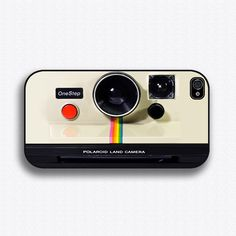 Vintage Polaroid Camera - iPhone 4 Case, iPhone 4s Case and iPhone 5 case. $17.99, via Etsy.