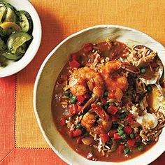 Shrimp Korma and Basmati Rice   CookingLight.com