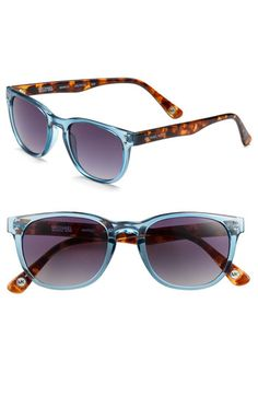 If I could wear regular sunglasses, I'd be getting a pair like these super cool Michael Kors wayfarers. Sadly, I have to stick with my prescription pair until they break and I'm forced to spend money on another. #accessories
