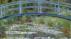 "Video on Art Babble: ""The Japanese Footbridge"" Claude Monet"