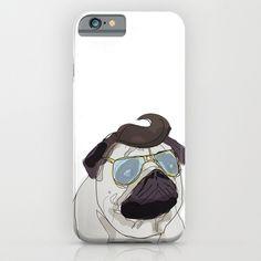 Mr Elvis the Pug iPhone Case