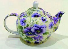 Pansy Tea Pot
