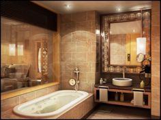 Spanish Style bathroom | Spanish Bathroom Design and Model | Photos Pictures Galleries and ...