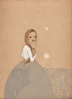Book girl by Irena Sophia