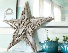 Make the Driftwood Star from Pottery Barn   2 ft X 2 ft