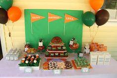 Sports Birthday Party Theme photo
