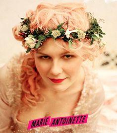 Marie Antoinette - pink hair