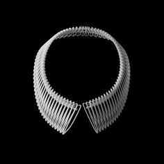 3D printed collar necklace