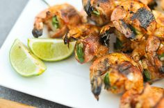 Bacon-Wrapped, Jalapeno and Cheese Stuffed Shrimp
