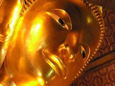 Reclining Buddha at Wat Pho  --- Bangkok