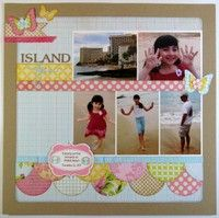 A Project by Mendi Yoshikawa from our Scrapbooking Gallery originally submitted 01/29/13 at 07:19 PM