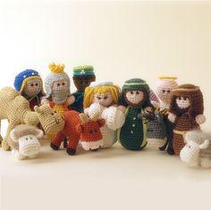 Nativity set - amigurumi