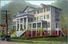Around 1908, the N & W built the YMCA at 2829 Gallia Street near its terminal. Train crew often stayed while waiting for the next run. It closed about 1960. It became the Homestead Restaurant first, then the Cavalier. It was torn down in 1968.