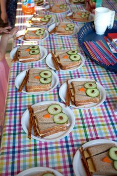 Fun Owl Sandwiches. Scarlett's 1st?