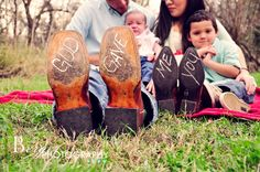cowboy boots, engagement photos, famili, blake shelton, berger photographi, baby announcements, family photography, photographi idea, 10 years
