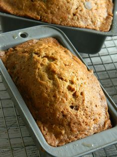 zucchini carrot apple bread with pecans and chocolate