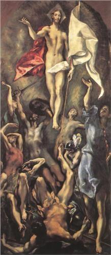 The Resurrection - El Greco