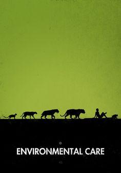 Critical Art - 99 Steps of Progress: 7. Environmental Care (by Maentis)